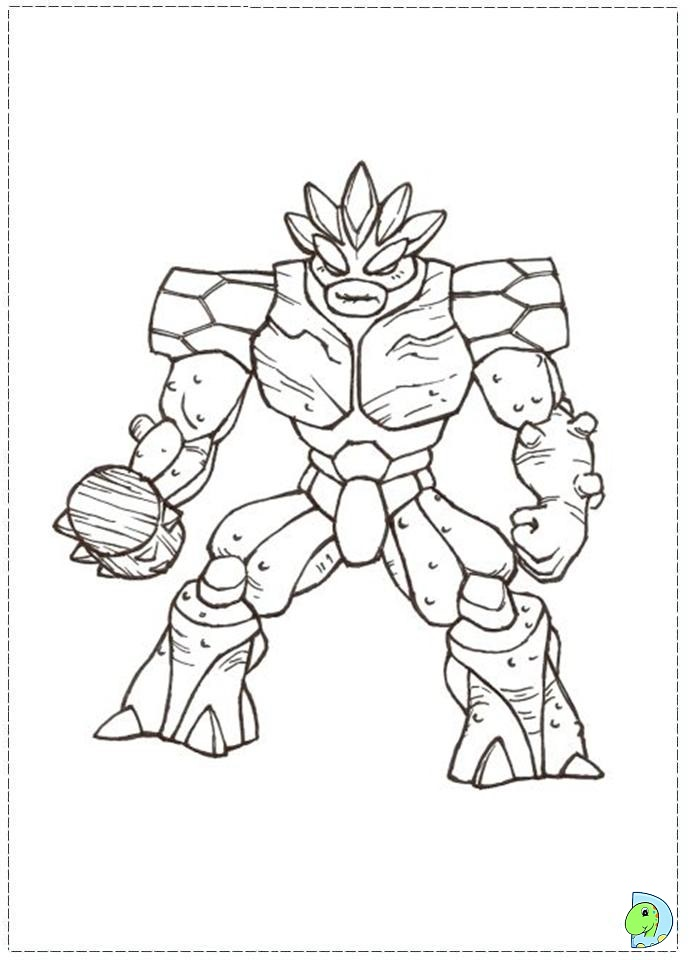 gormiti games coloring pages - photo#23