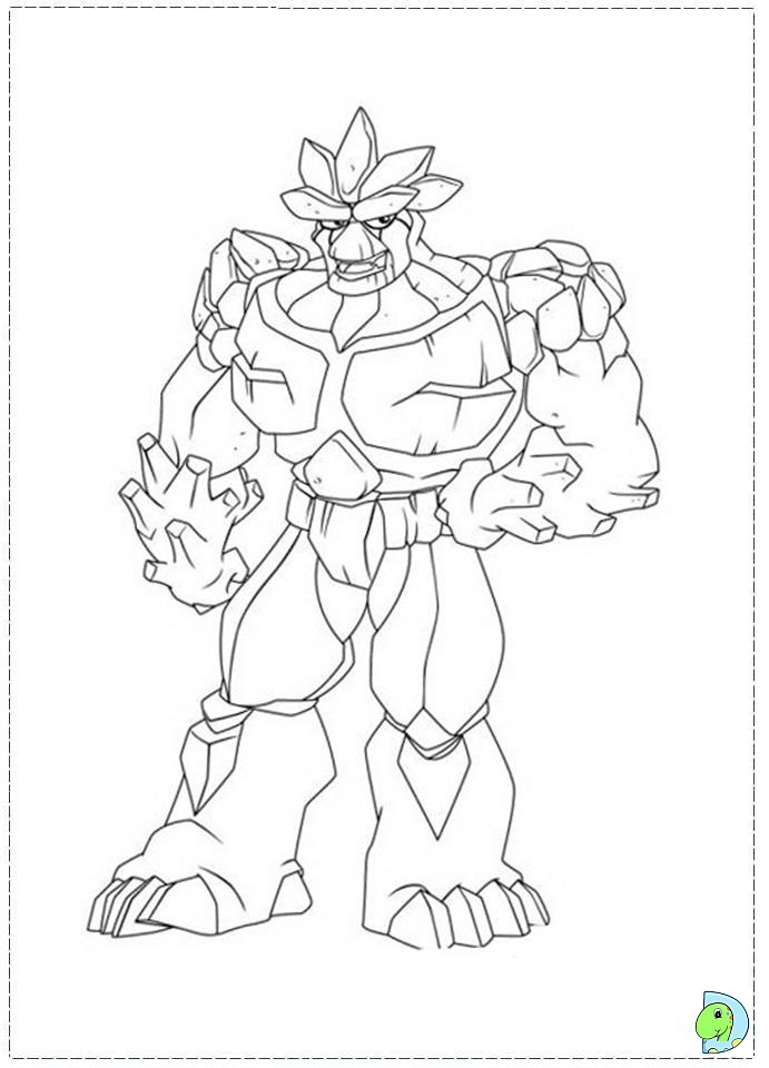gormiti games coloring pages - photo#2