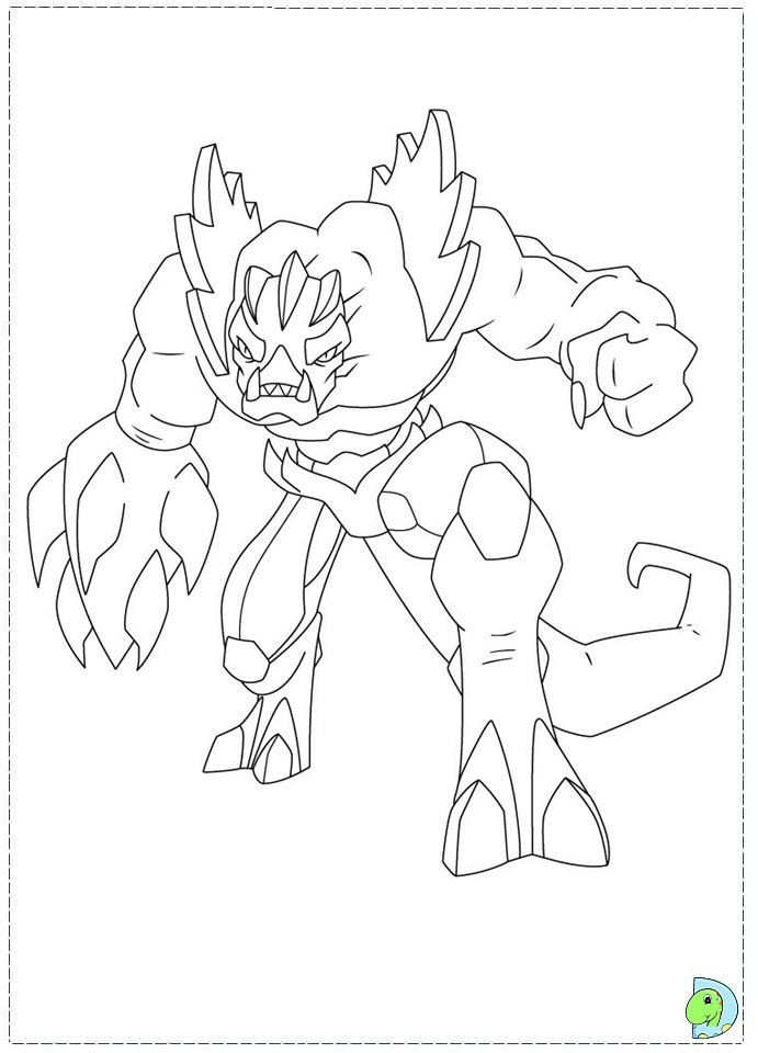 gormiti games coloring pages - photo#1
