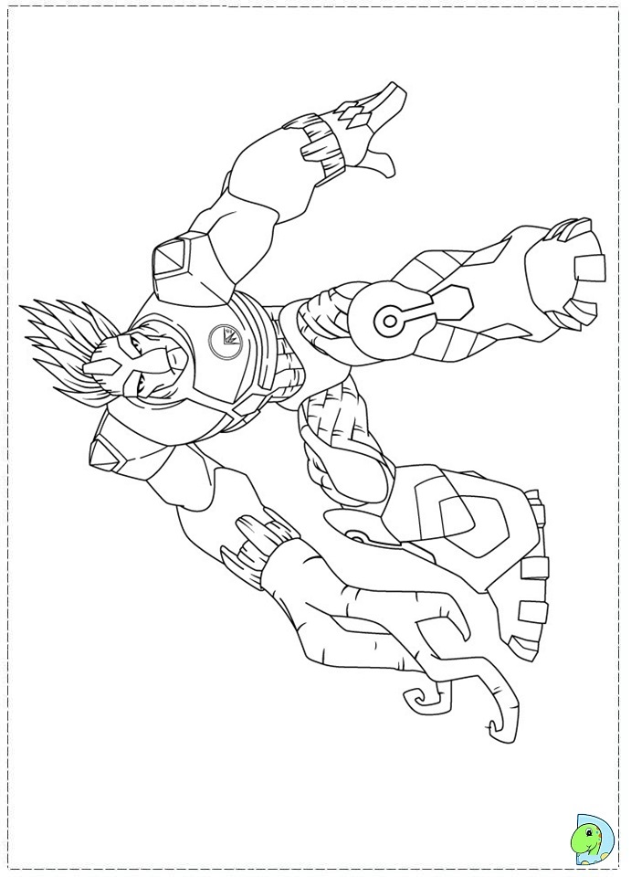 gormiti games coloring pages - photo#20
