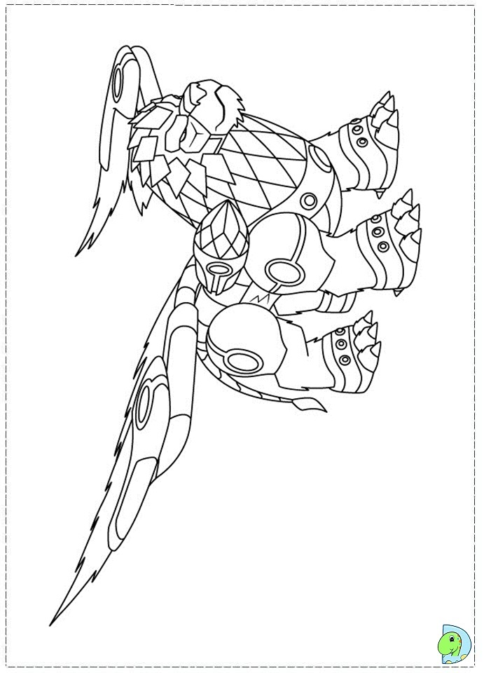 gormiti games coloring pages - photo#7