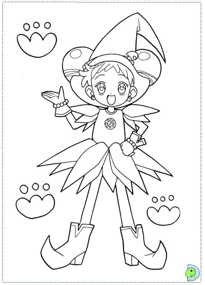 magical doremi coloring pages - magical doremi coloring