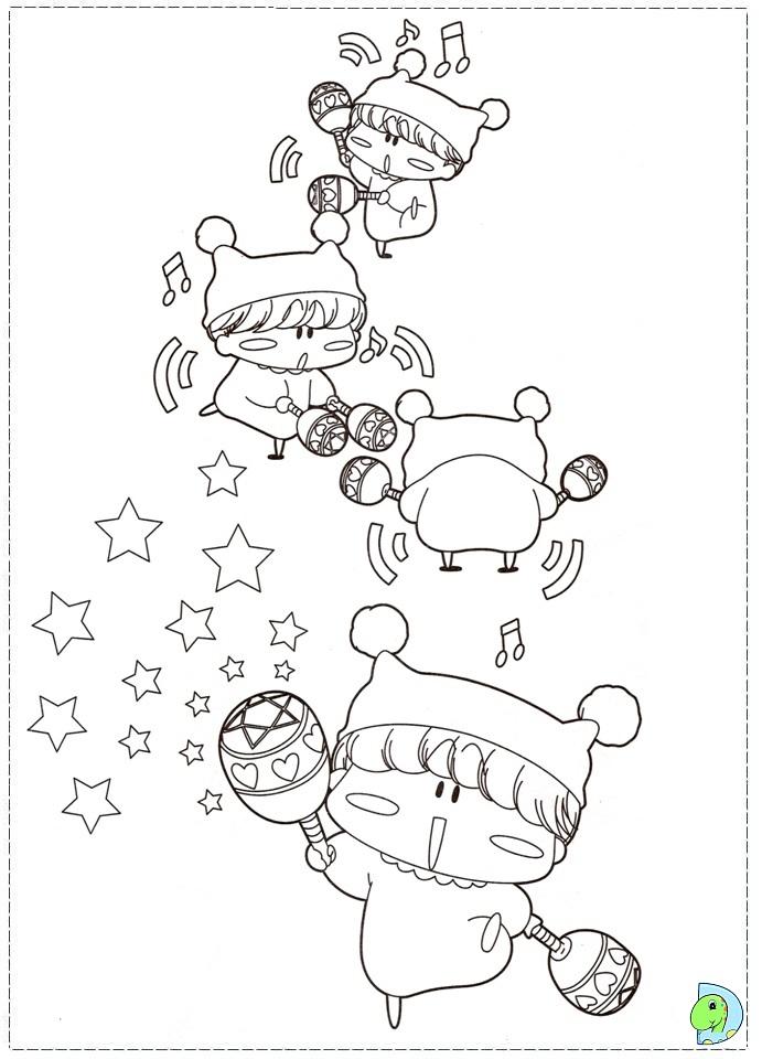 dinokids manga coloring pages - photo#17