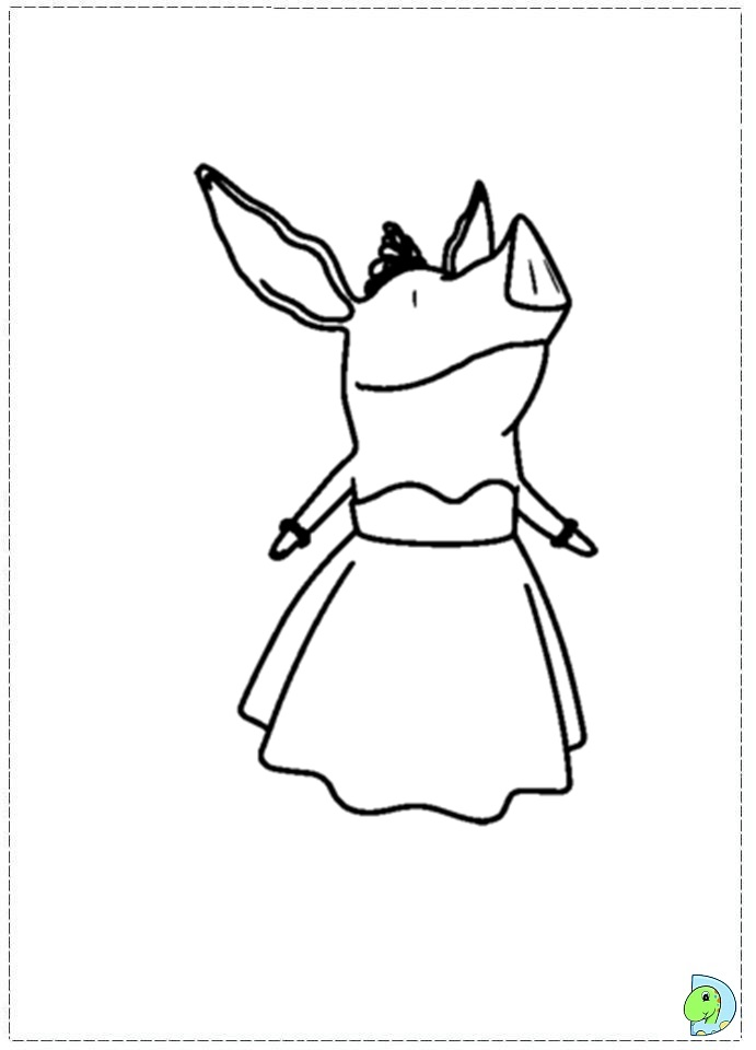 nick jr coloring pages olivia - photo#3