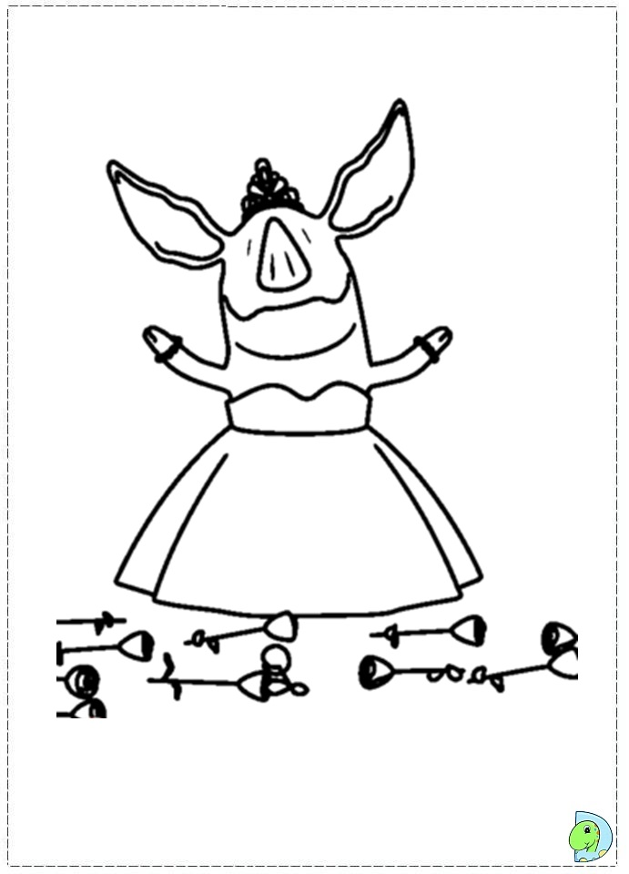 nick jr coloring pages olivia - photo#2