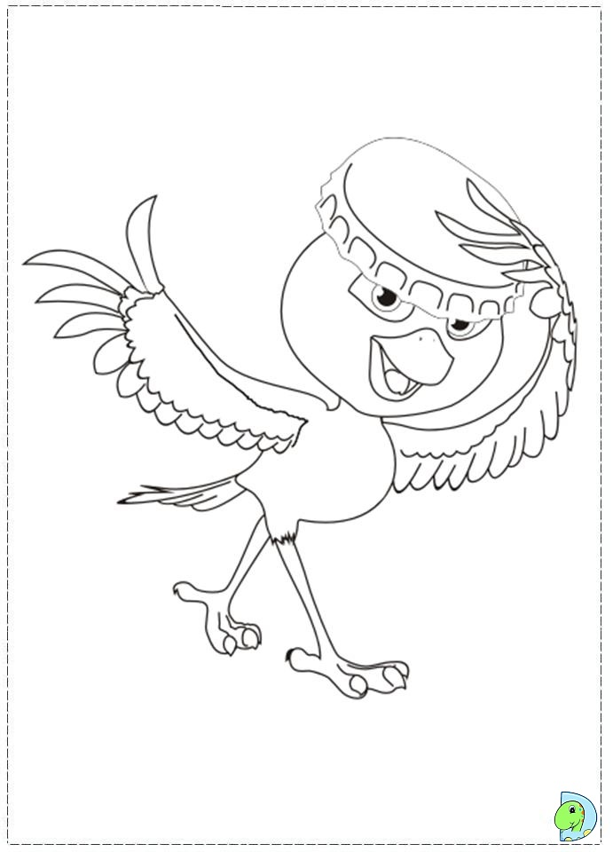 Rio Coloring Pages Disney S Pictures to Pin on Pinterest  PinsDaddy