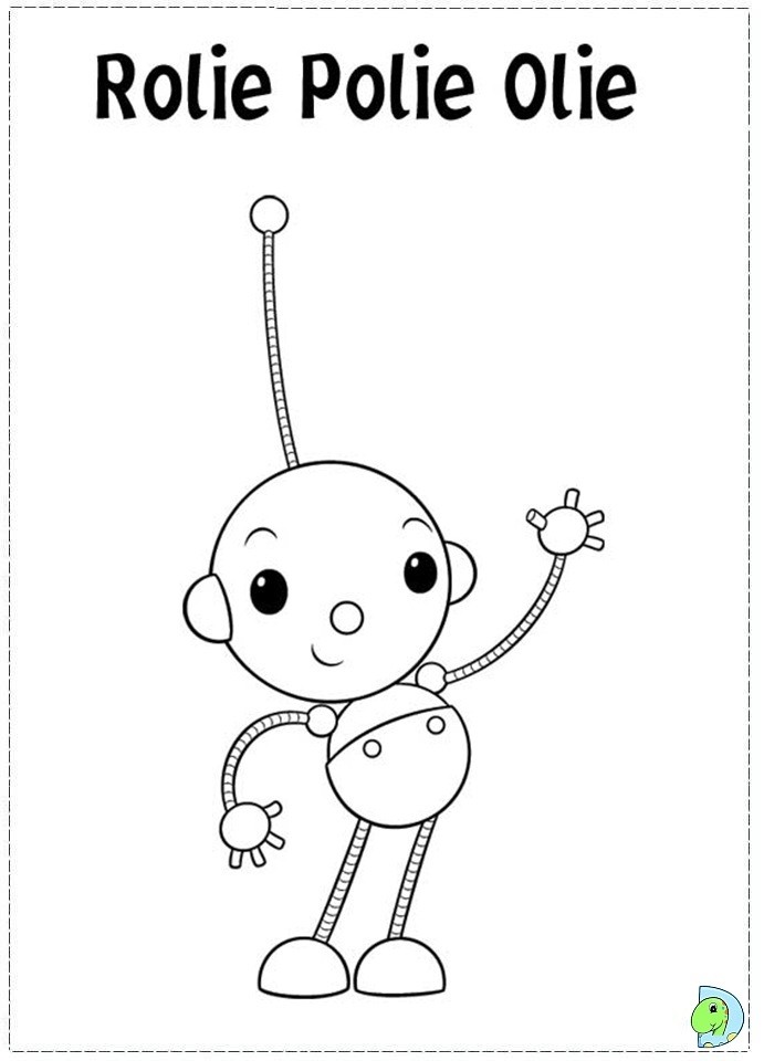 Rolie Polie Olie Printable Coloring Pages Movie Search Rolie Polie Olie Coloring Pages