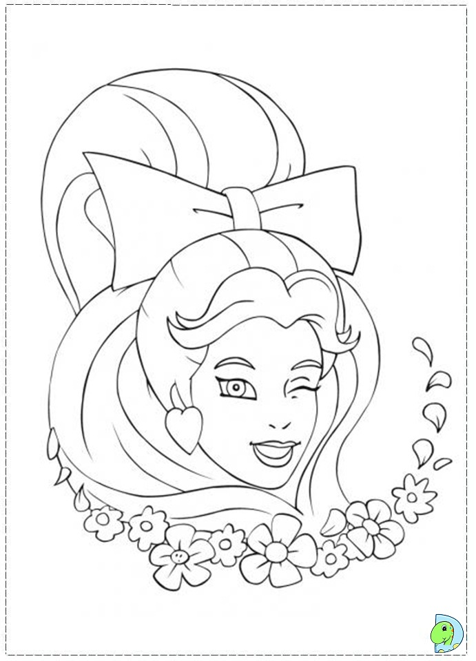 skydancers coloring pages - photo#10