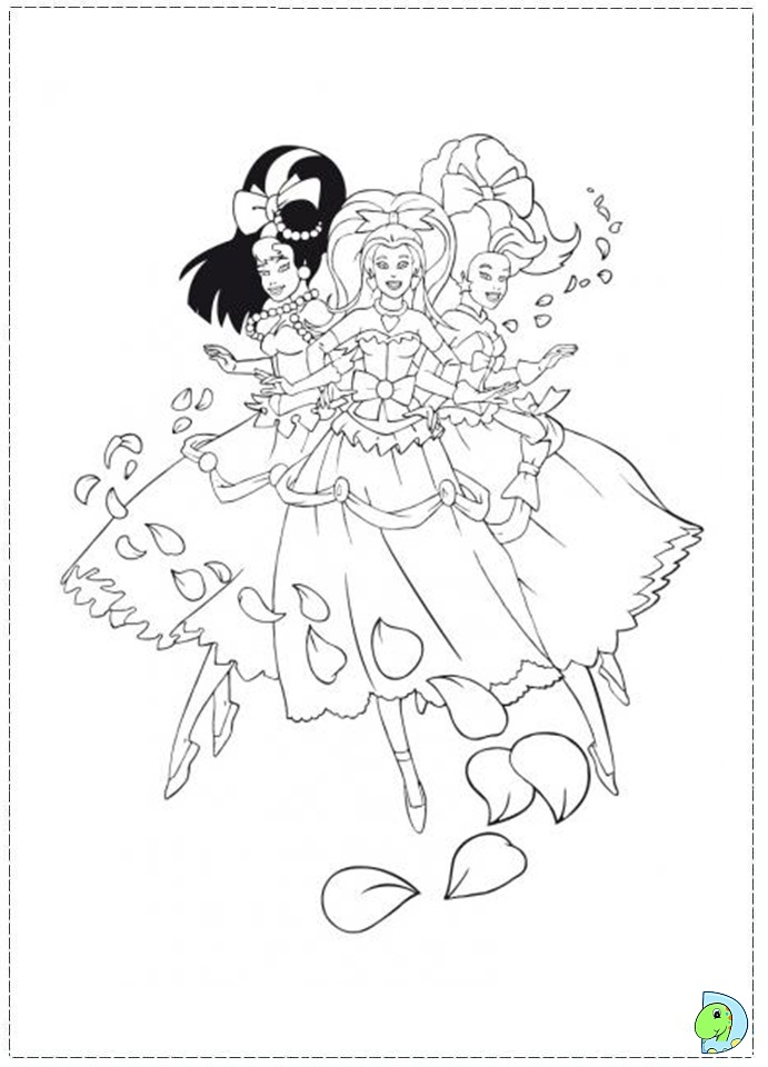 skydancers coloring pages - photo#9