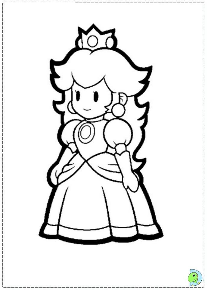 Super mario bros coloring page for Super mario coloring pages online