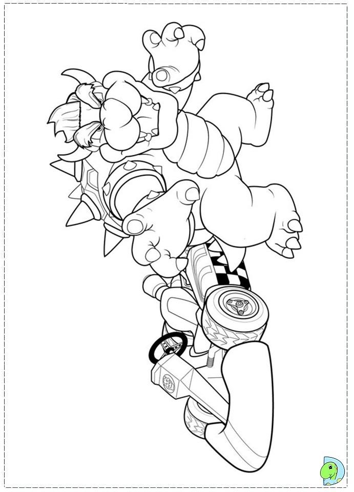 mario baseball coloring pages - photo#19