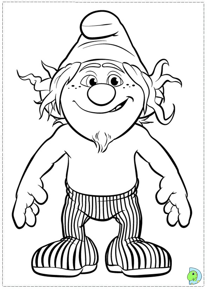 The Smurfs 2 Vexy Coloring Coloring Pages