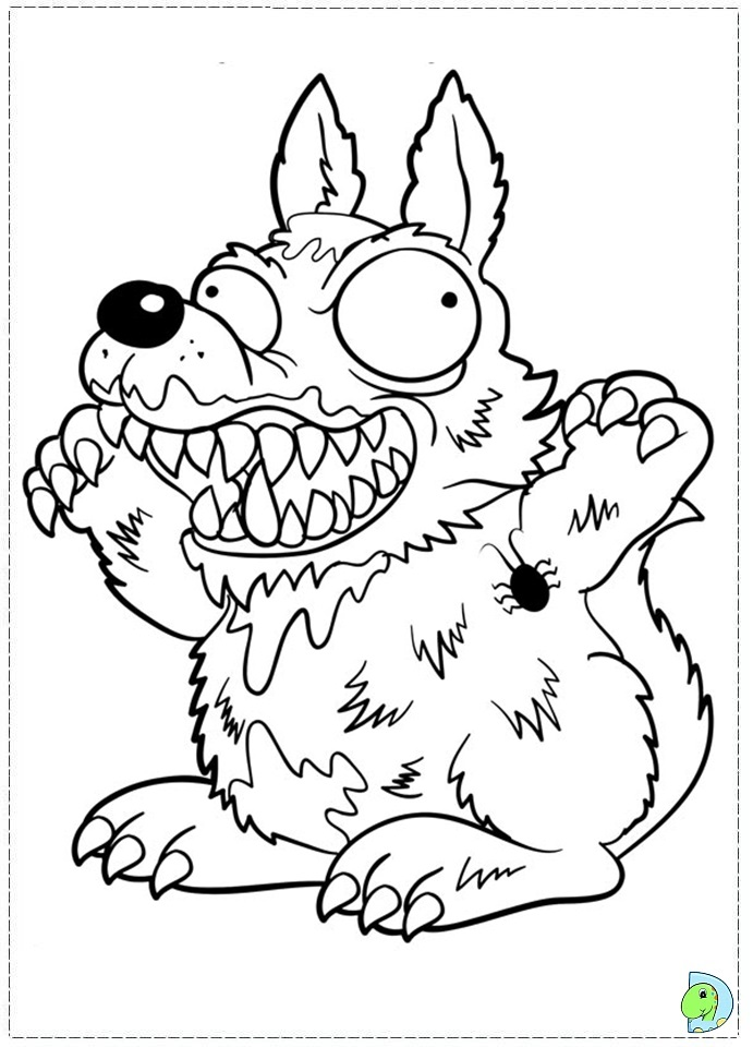 Trash Pack Coloring Pages To Print #6