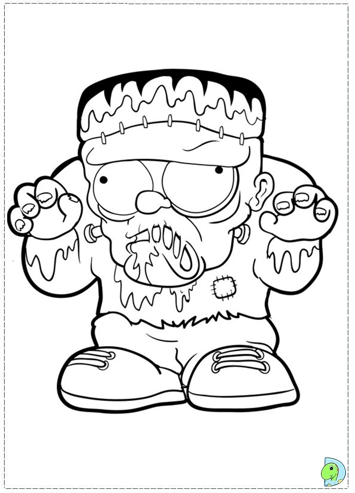 coloring pages trash packs - photo#17
