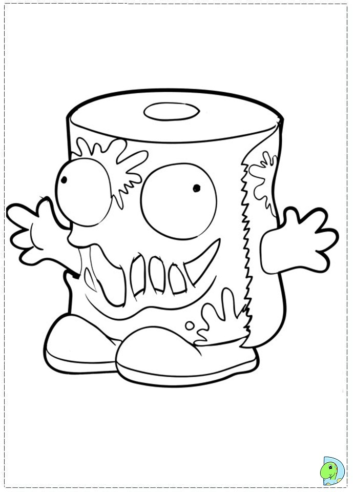 The Trach Pack Free Coloring Pages