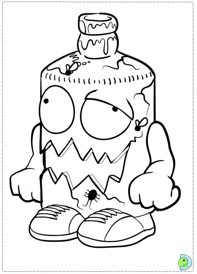 Trash Pack Toys Free Colouring