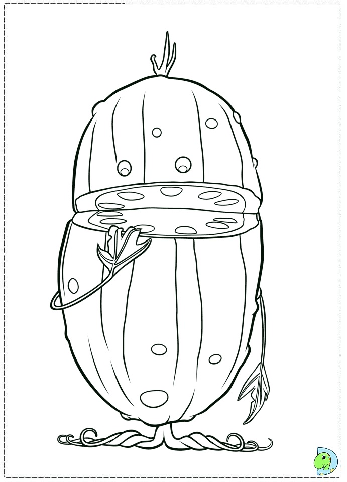 Cloudy With A Chance Of Meatballs 2 Coloring Page