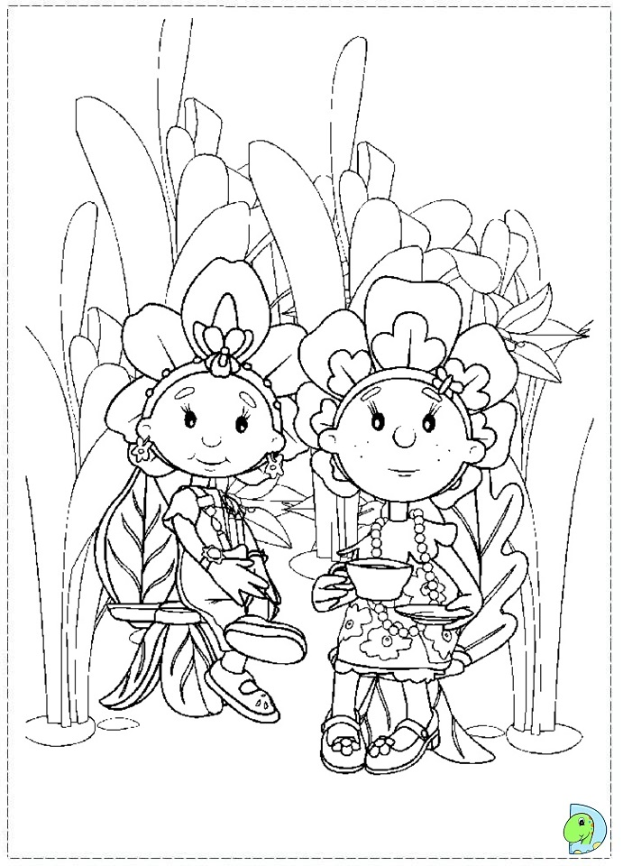 mooshka tots coloring pages - photo#10