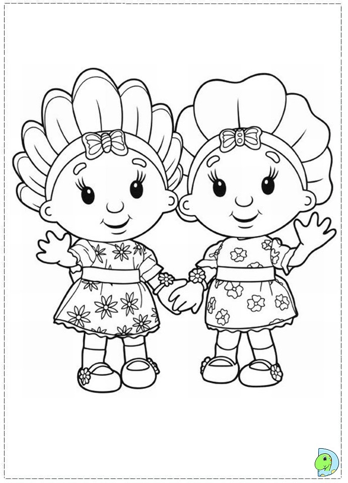 mooshka tots coloring pages - photo#16
