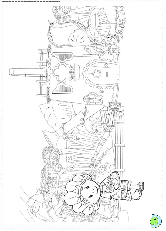 mooshka tots coloring pages - photo#9