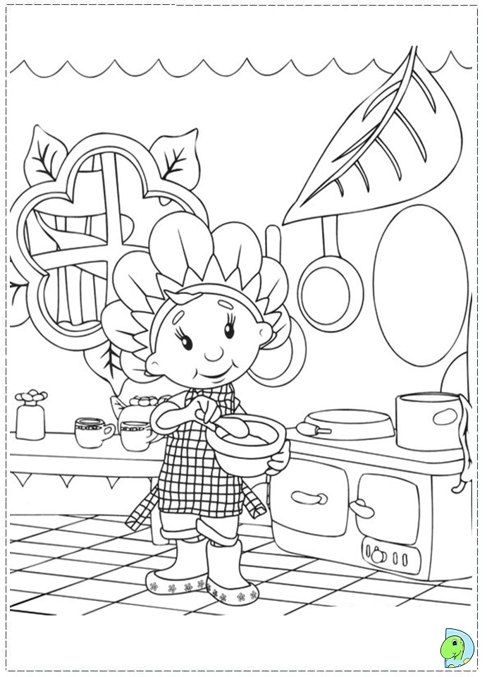 Fifi and the Flowertots coloring