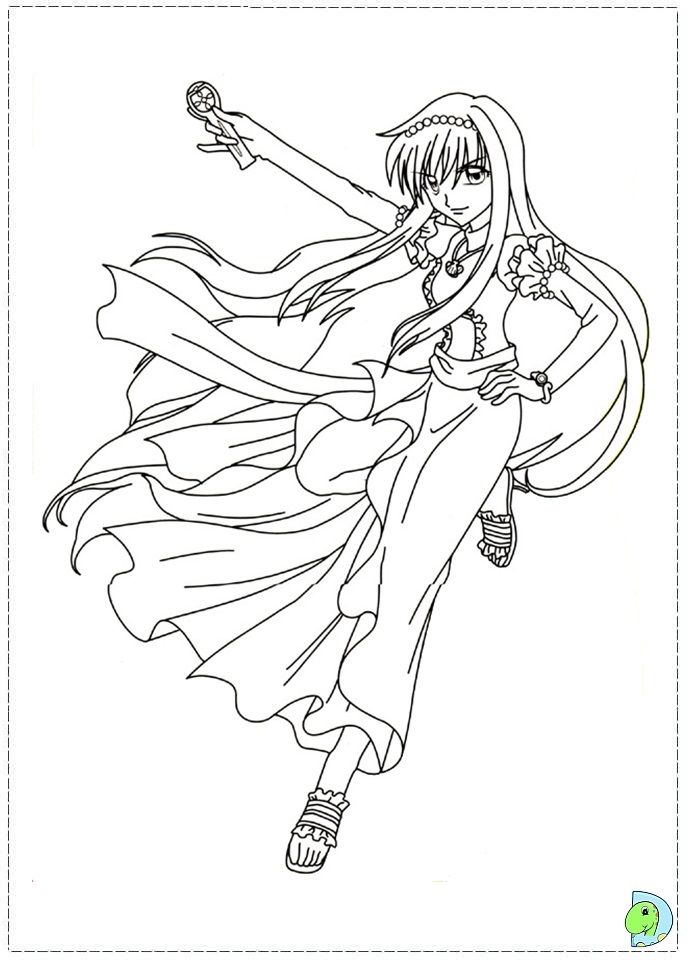 chibi melody coloring pages - photo#4