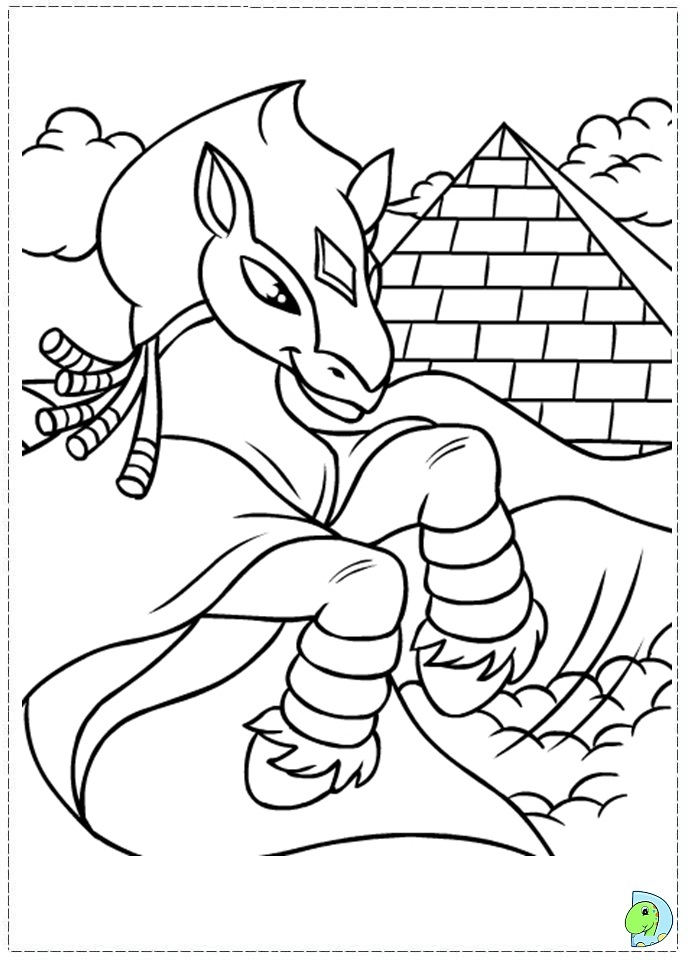 lost heroes coloring pages - photo#14