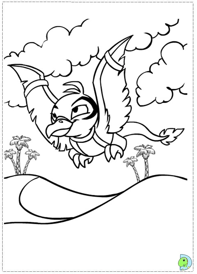 lost heroes coloring pages - photo#32