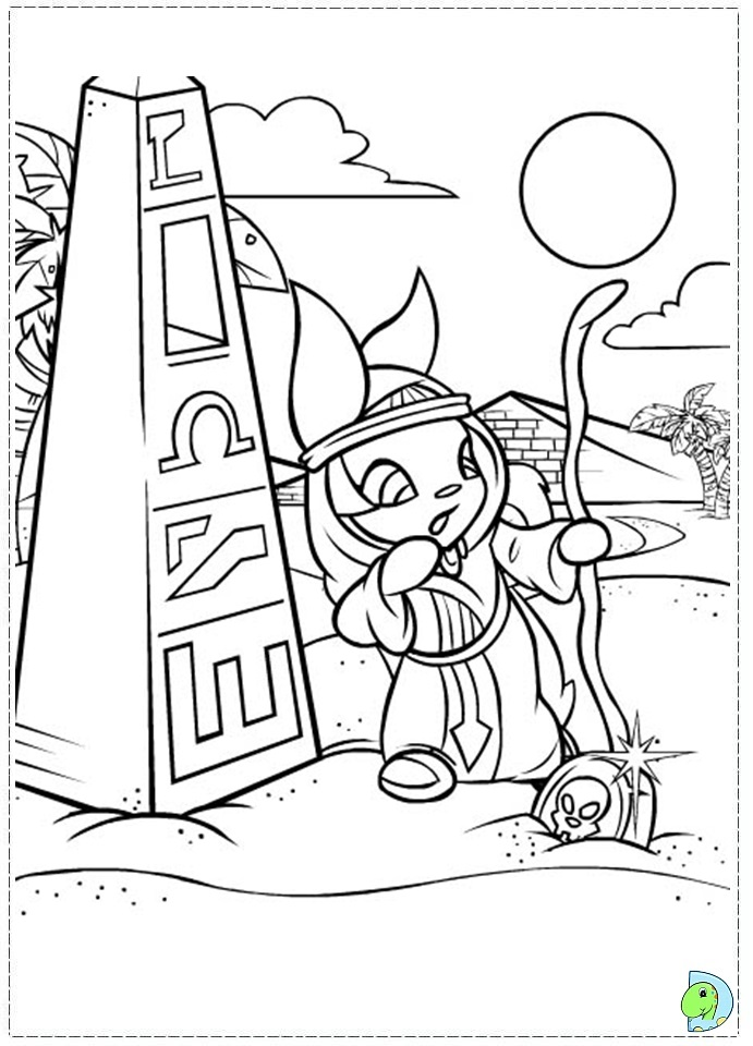 lost heroes coloring pages - photo#23