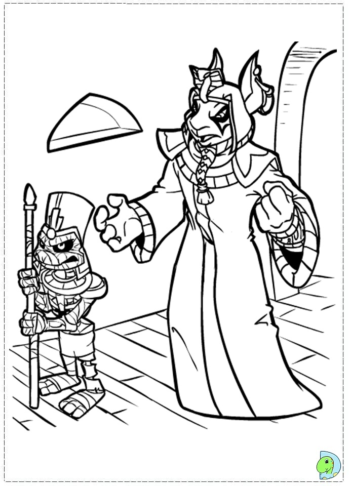 lost heroes coloring pages - photo#9