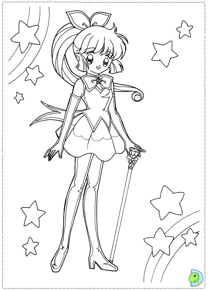 dinokids manga coloring pages - photo#23
