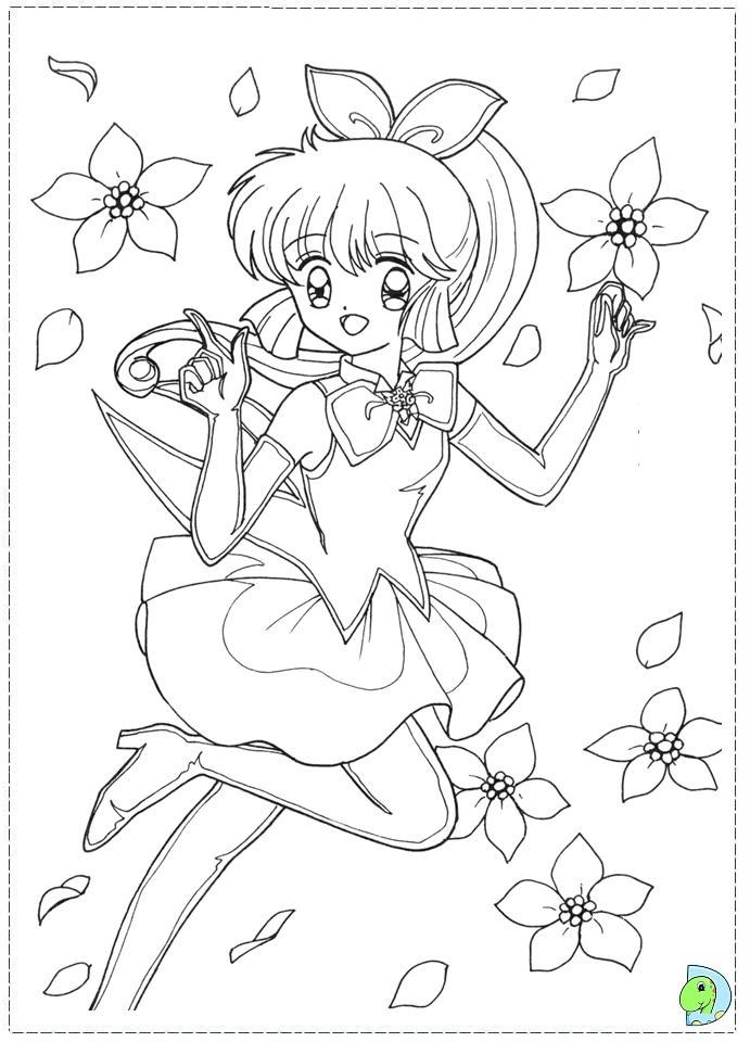 dinokids manga coloring pages - photo#9