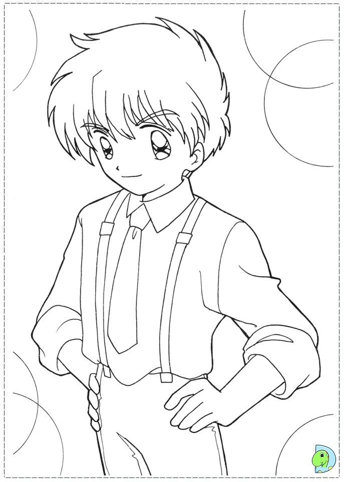 dinokids manga coloring pages - photo#26