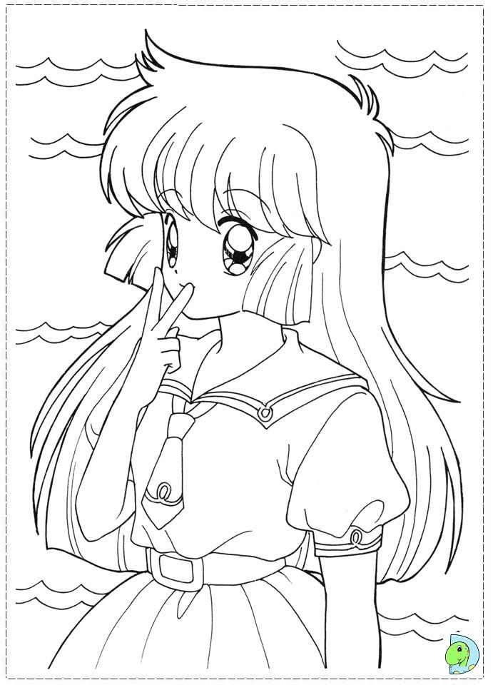 dinokids manga coloring pages - photo#11