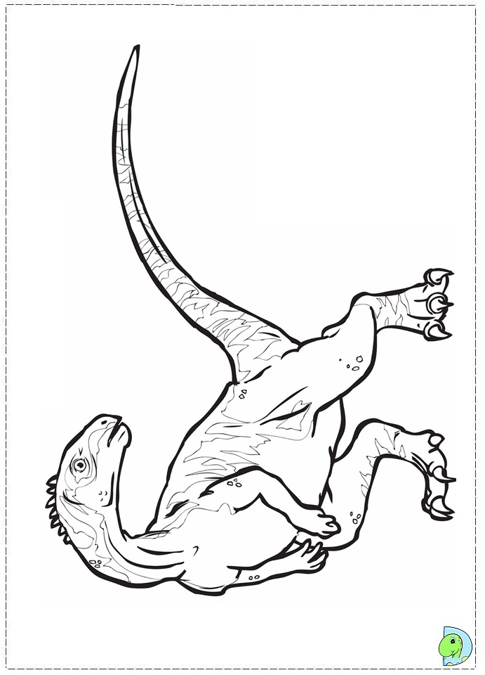 walking with dinosaurs coloring pages - photo #24