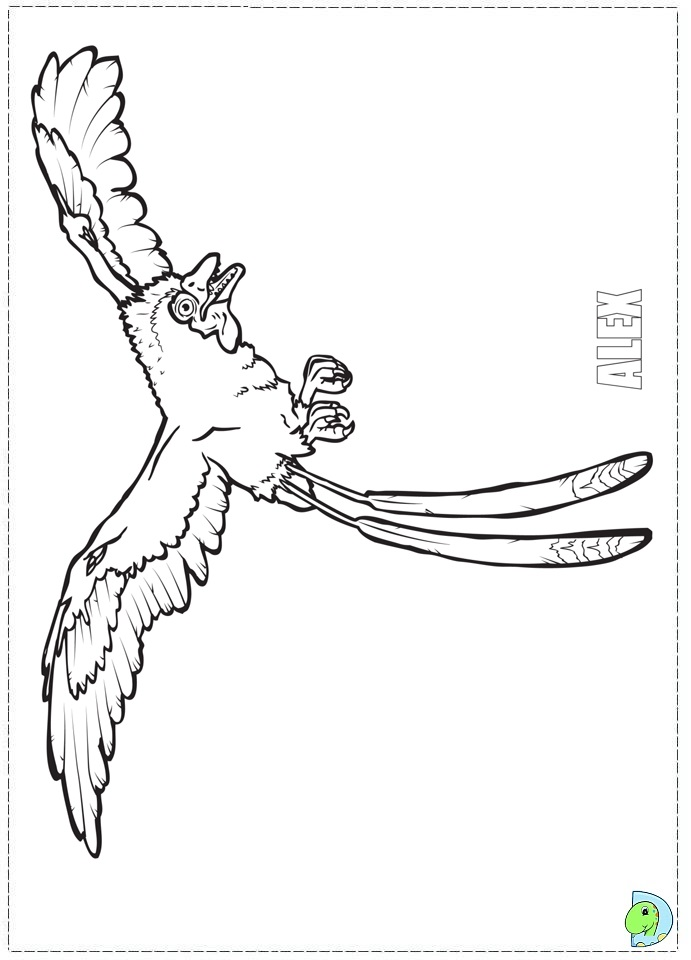 walking with dinosaurs coloring pages - photo #19