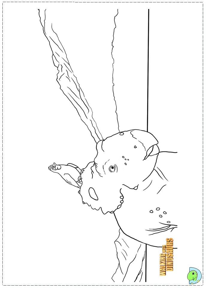 walking with dinosaurs coloring pages - photo #36