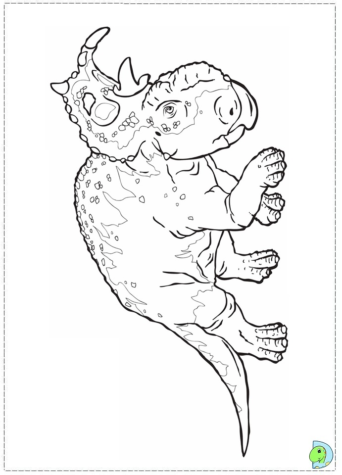 walking with dinosaurs coloring pages - photo #42