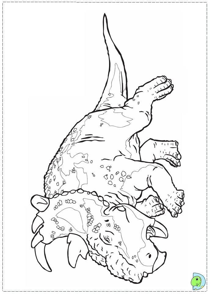 walking with dinosaurs coloring pages - photo #22