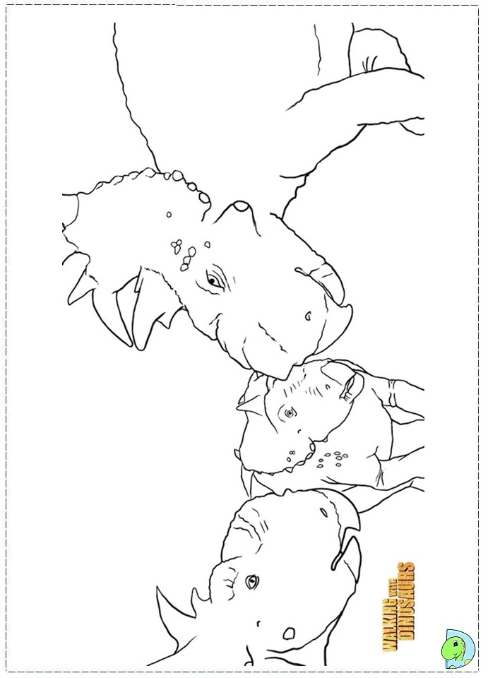 walking with dinosaurs coloring pages - photo #34