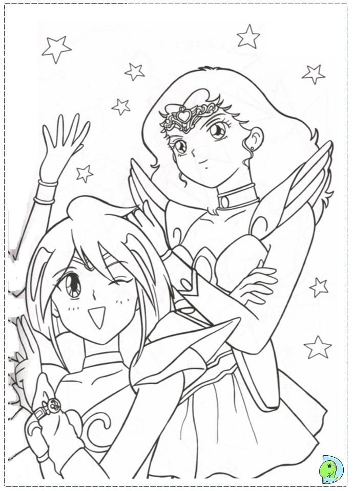 dinokids manga coloring pages - photo#20