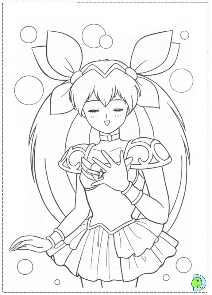 Wedding Peach Coloring Pages