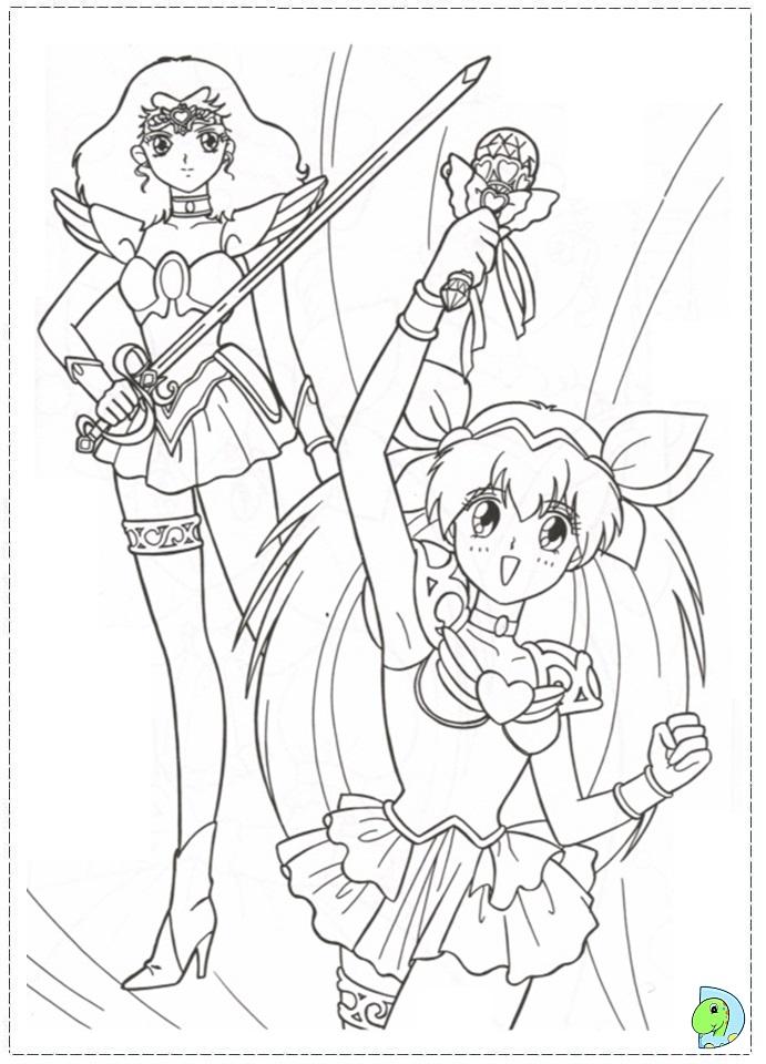 Wedding Peach coloring page DinoKids
