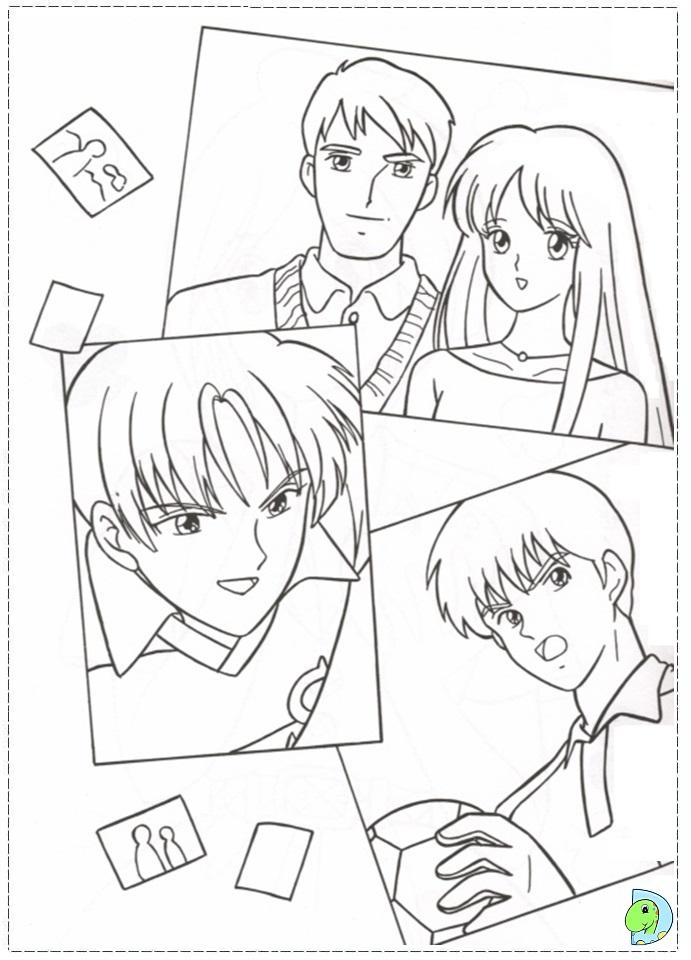 dinokids manga coloring pages - photo#35