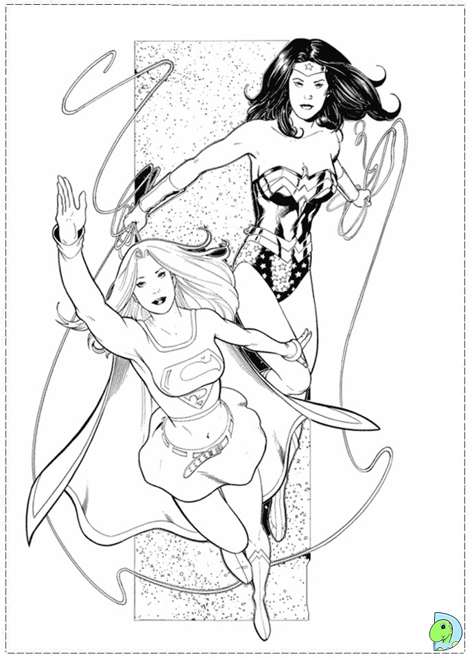 wonder woman coloring pages - photo#31