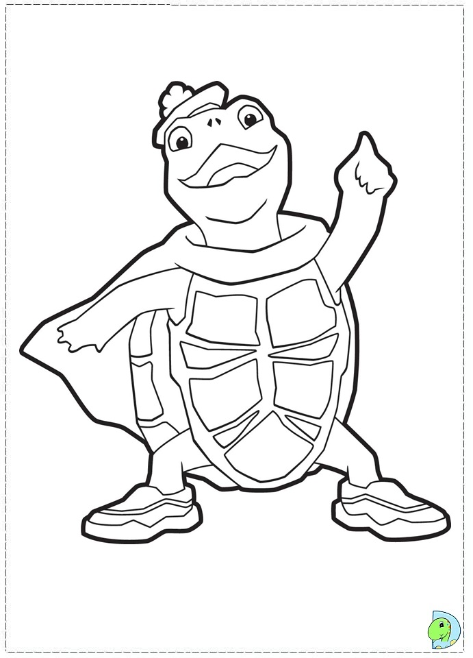 wonder pets free coloring pages - photo#8