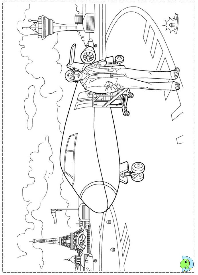 Barbie Fashion Fairytale Coloring pages for kids DinoKidsorg