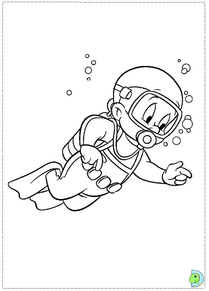 elmer fud coloring pages - photo#15