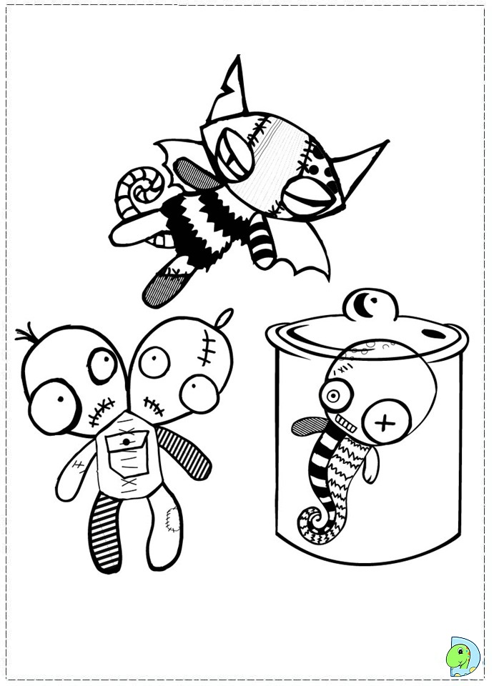 emily strange coloring pages - photo#7