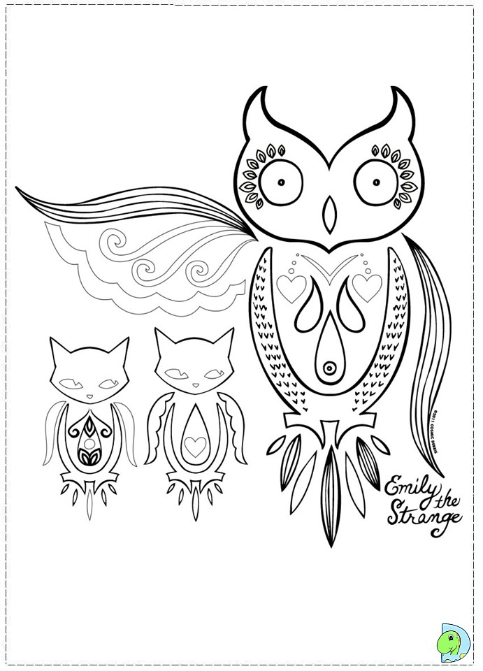 emily coloring pages - photo#38